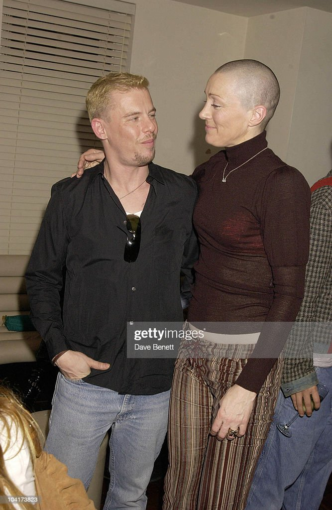 Alexander Mcqueen With Friend, Harvey Nichols Mcqueen Party, In The Fifth Floor Restaurant Had A Surprise Guest With Christina Aguilera,