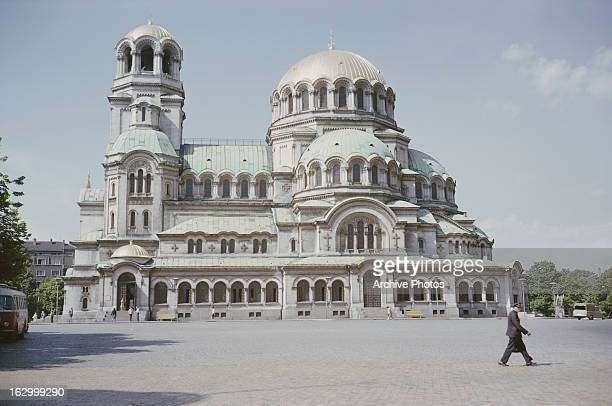 Alexander Nevsky Cathedral in Sofia Bulgaria August 1965