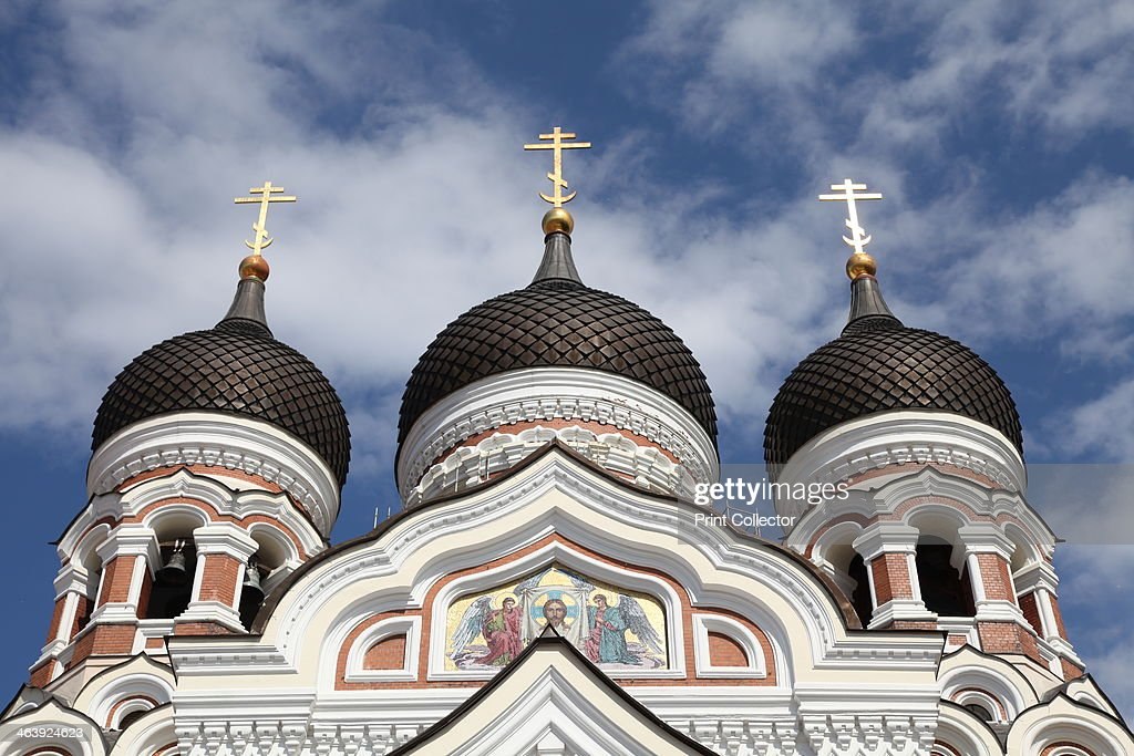 Alexander Nevsky Cathedral Tallin Estonia 2011 Built between 1894 and 1900 by order of Tsar Alexander III this Russian Orthodox cathedral is...