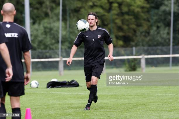 Alexander ODEGAARD reprise entrainement de Metz Ligue 2 saison 2011/2012