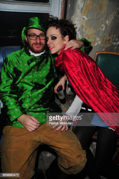 Alexander Olch and Jennifer Murray attend HALLOWEEN YEAR ZERO hosted by Carlos Quirarte Matt Kliegman and Taavo Somer with Hornitos Tequila at NoMad...