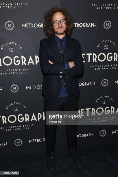 Alexander Olch attends the Metrograph 1st Year Anniversary Party at Metrograph on March 8 2017 in New York City