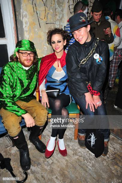 Alexander Olch Jennifer Murray and Natacha Polaert attend HALLOWEEN YEAR ZERO hosted by Carlos Quirarte Matt Kliegman and Taavo Somer with Hornitos...