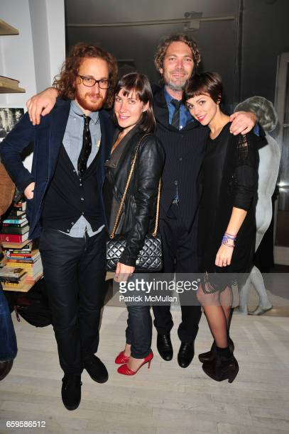 Alexander Olch Natacha Polaert Hunter Gray and Jennifer Murray attend HBO Premiere of Alexander Olch's THE WINDMILL MOVIE at Private Residence on...