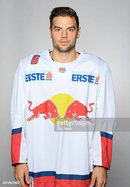 Alexander Pallestrang of EC Red Bull Salzburg during the portrait shot September 16 2016 in Salzburg Austria
