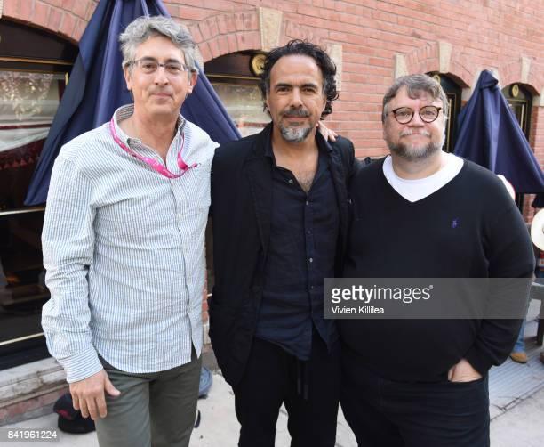 Alexander Payne Alejandro Gonzalez Inarritu and Guillermo Del Toro attend the Telluride Film Festival 2017 on September 2 2017 in Telluride Colorado