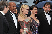 Alexander Payne Raoul Peck Diane Kruger Hiam Abbass and Nanni Moretti at the premiere for 'Amour' during the 65th Cannes International Film Festival
