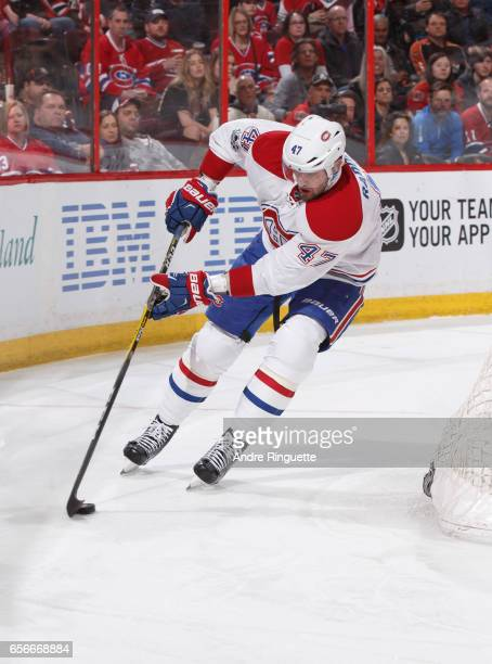 Alexander Radulov of the Montreal Canadiens skates against the Ottawa Senators at Canadian Tire Centre on March 18 2017 in Ottawa Ontario Canada