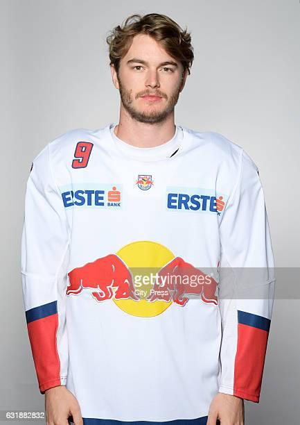 Alexander Rauchenwald of EC Red Bull Salzburg during the portrait shot September 16 2016 in Salzburg Austria