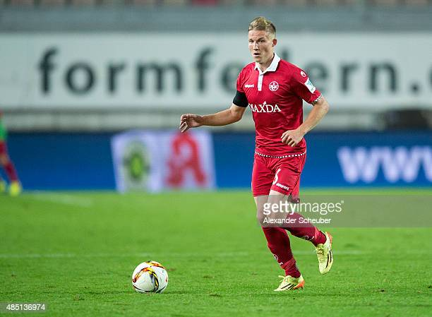 Alexander Ring of 1 FC Kaiserslautern in action during the second Bundesliga match between 1 FC Kaiserslautern and SC Paderborn at FritzWalterStadion...