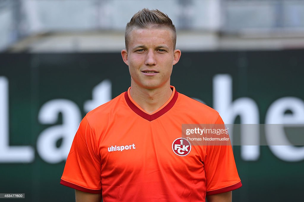 <a gi-track='captionPersonalityLinkClicked' href=/galleries/search?phrase=Alexander+Ring&family=editorial&specificpeople=5588968 ng-click='$event.stopPropagation()'>Alexander Ring</a> of 1.FC Kaiserslautern poses during the team presentation at Fritz-Walter Sadion on July 15, 2014 in Kaiserslautern, Germany.