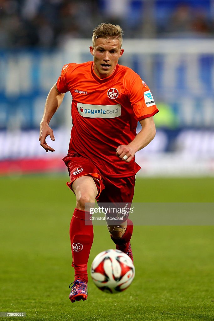 <a gi-track='captionPersonalityLinkClicked' href=/galleries/search?phrase=Alexander+Ring&family=editorial&specificpeople=5588968 ng-click='$event.stopPropagation()'>Alexander Ring</a> of Kaiserslautern runs with the ball during the Second Bundesliga match between VfL Bochum and 1. FC Kaiserslautern at Rewirpower Stadium on April 24, 2015 in Bochum, Germany.