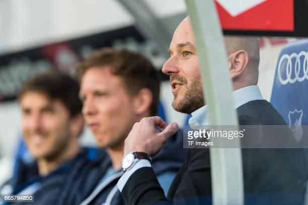 Alexander Rosen of Hoffenheim looks on during the Bundesliga match between TSG 1899 Hoffenheim and Bayern Muenchen at Wirsol RheinNeckarArena on...
