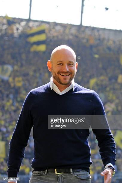 Alexander Rosen of Hoffenheim looks on during the Bundesliga match between Borussia Dortmund and TSG 1899 Hoffenheim at Signal Iduna Park on May 6...