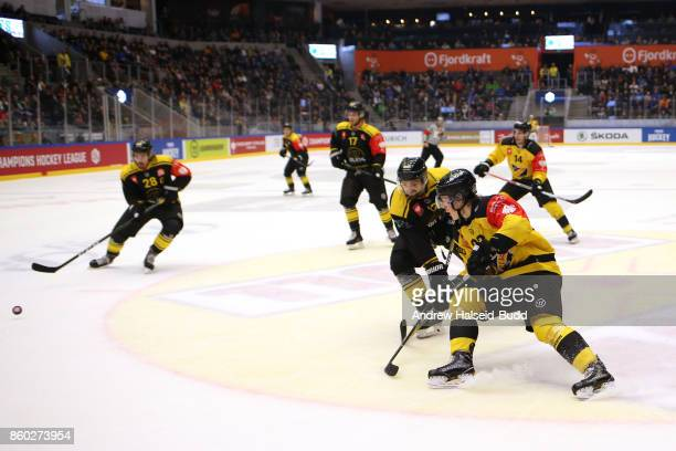 Alexander Ruuttu of KalPa Kuopio in action during the Champions Hockey League match between Stavanger Oilers and KalPa Kuopio at the DNB Arena on...
