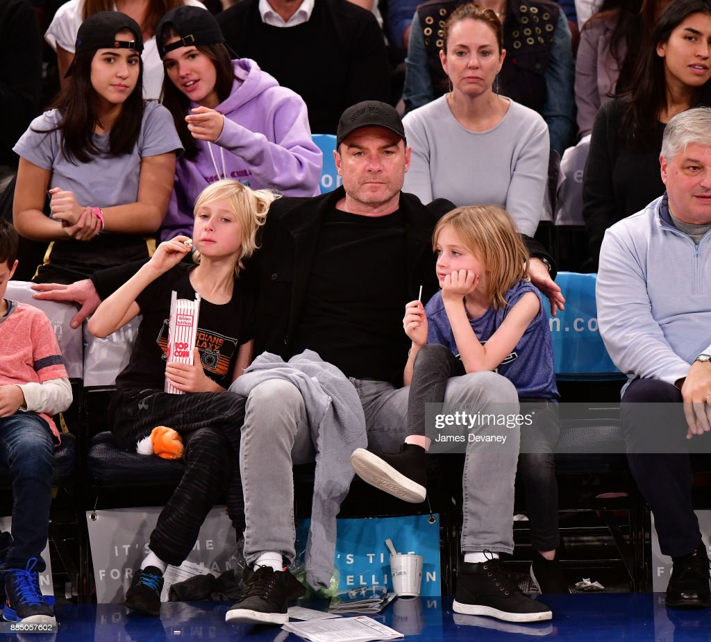 Celebrities Attend The New York Knicks Vs Orlando Magic Game