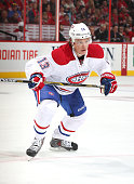 Alexander Semin of the Montreal Canadiens skates against the Ottawa Senators at Canadian Tire Centre on October 11 2015 in Ottawa Ontario Canada