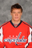 Alexander Semin of the Washington Capitals poses for his official headshot for the 20112012 NHL season on September 16 2011 at the Kettler Capitals...