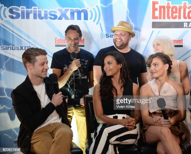 Alexander Siddig Drew Powell Ben McKenzie Jessica Lucas and Camren Bicondova attend SiriusXM's Entertainment Weekly Radio Channel Broadcasts From...