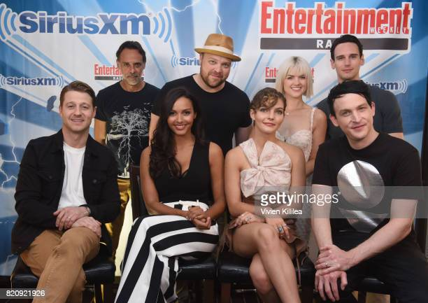 Alexander Siddig Drew Powell Erin Richards Cory Michael Smith Ben McKenzie Jessica Lucas Camren Bicondova and Robin Lord Taylor attend SiriusXM's...