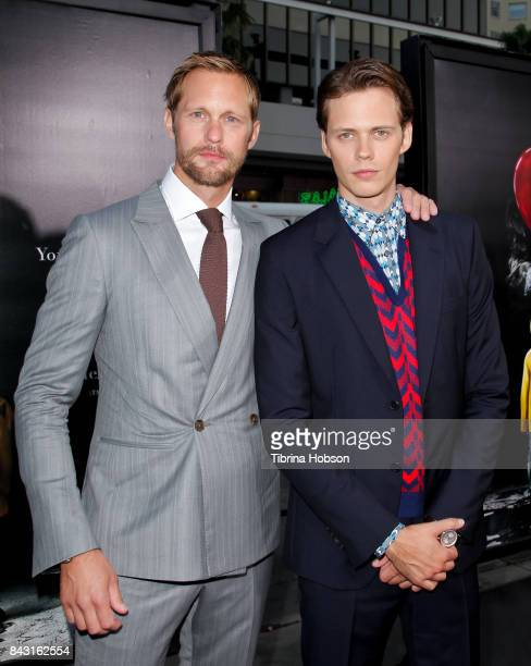 Alexander Skarsgard and Bill Skarsgard attend the premiere of 'It' at TCL Chinese Theatre on September 5 2017 in Hollywood California