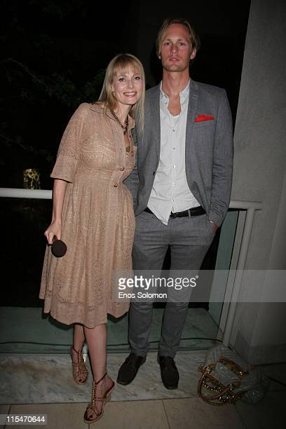 Alexander Skarsgard and Sofia Eng during Tribute to Academy Award Winning Cinematographer Sven Nykvist at Billy Wilder Theater Hammer Museum in Los...