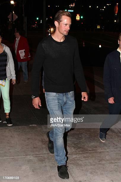 Alexander Skarsgard as seen on June 15 2013 in Los Angeles California