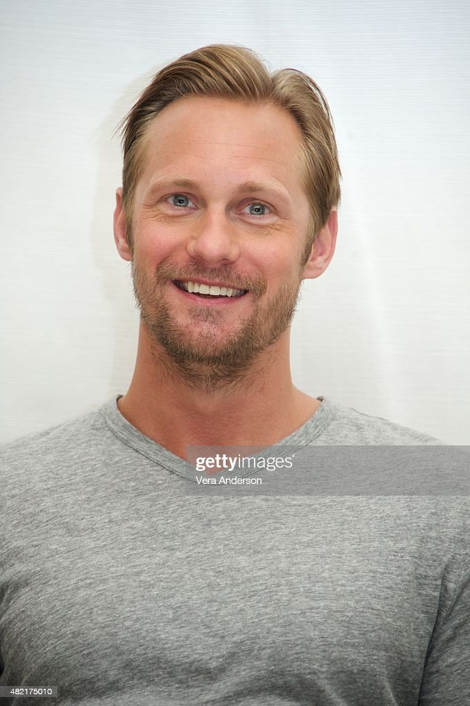 Alexander Skarsgard at 'The Diary Of A Teenage Girl' Press Conference at the Four Seasons Hotel on July 27 2015 in Beverly Hills California