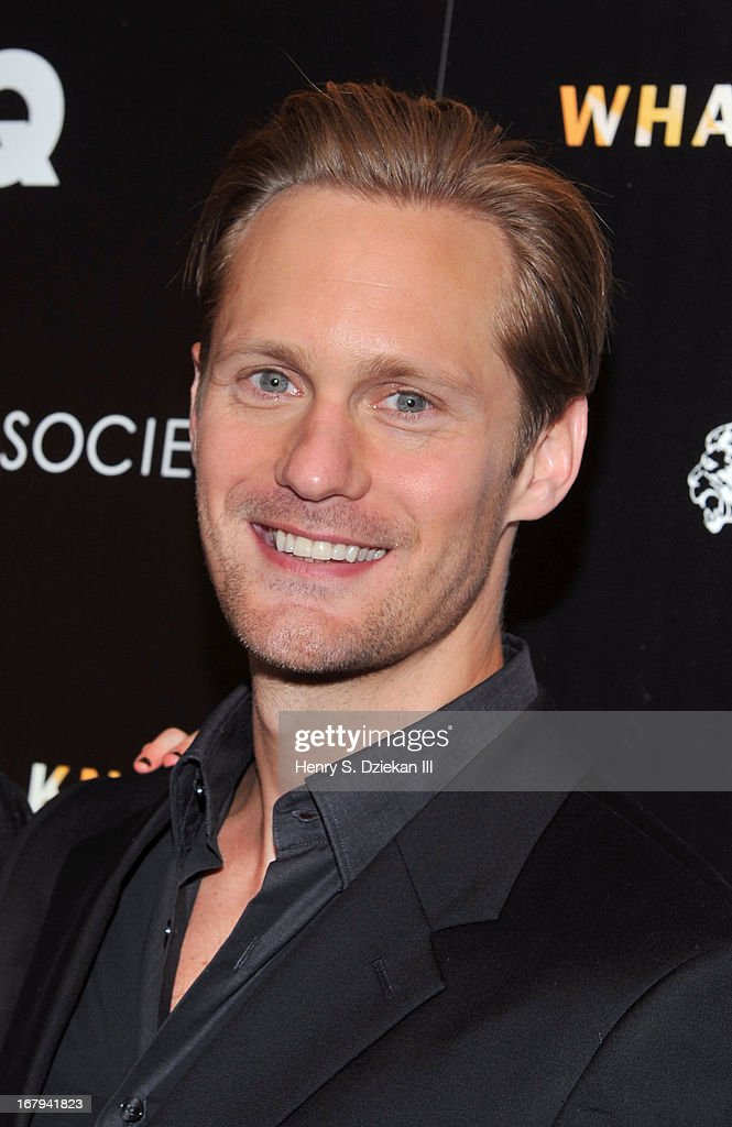 Alexander Skarsgard attends The Cinema Society with Tod's & GQ screening of Millennium Entertainment's 'What Maisie Knew' at Sunshine Landmark on May 2, 2013 in New York City.