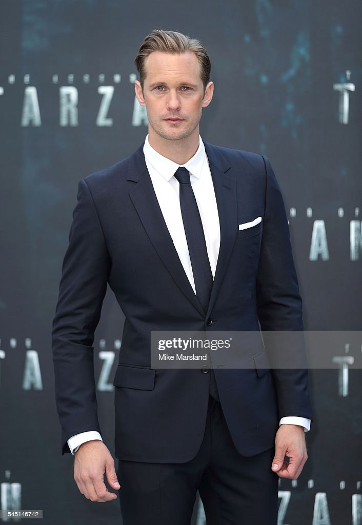 Alexander Skarsgard attends the European premiere of 'The Legend Of Tarzan' at Odeon Leicester Square on July 5 2016 in London England