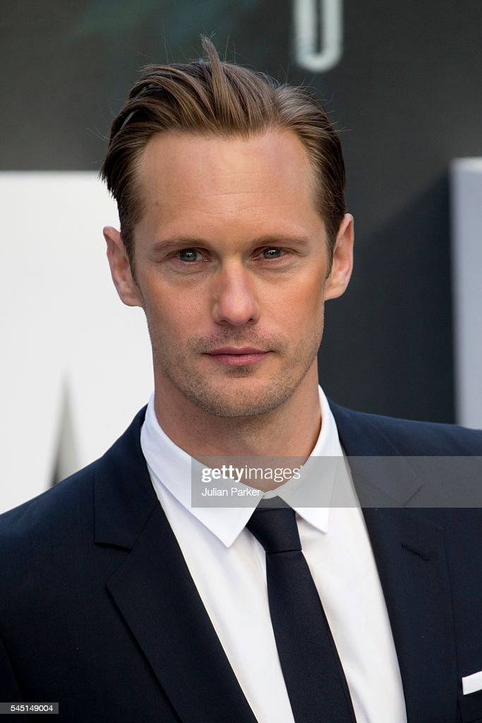 Alexander Skarsgard attends the European premiere of 'The Legend Of Tarzan' at Odeon Leicester Square on July 5, 2016 in London, England.