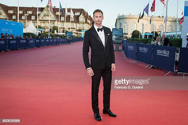Alexander Skarsgard attends the premiere of 'War On Everyone' during the 42nd Deauville American Film Festival on September 8 2016 in Deauville France