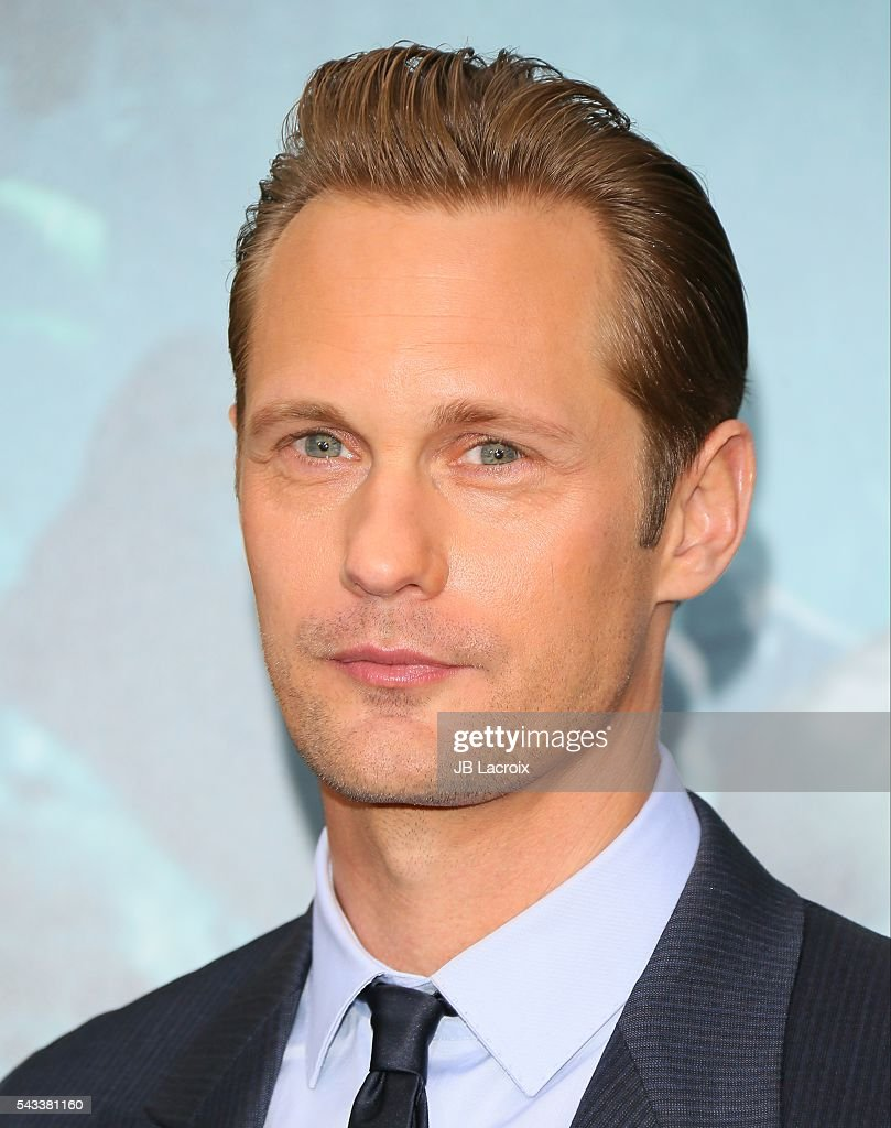 Alexander Skarsgard attends the premiere of Warner Bros. Pictures' 'The Legend of Tarzan' on June 27, 2016 in Hollywood, California.