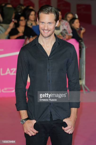 Alexander Skarsgard attends the 'True Blood 5' photocall during the RomaFictionFest on 2012 at Auditorium Parco Della Musica October 3 2012 in Rome...