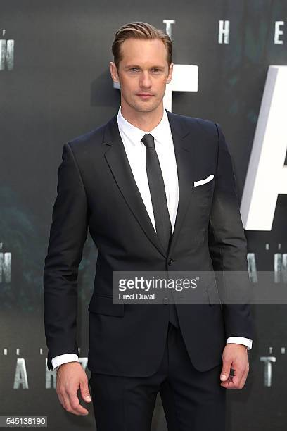 Alexander Skarsgard attends the UK Premiere of 'The Legend of Tarzan' at Odeon Leicester Square on July 5 2016 in London England