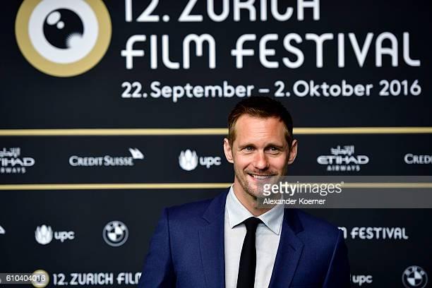 Alexander Skarsgard attends the 'War On Everyone' Premiere during the 12th Zurich Film Festival on September 25 2016 in Zurich Switzerland The Zurich...