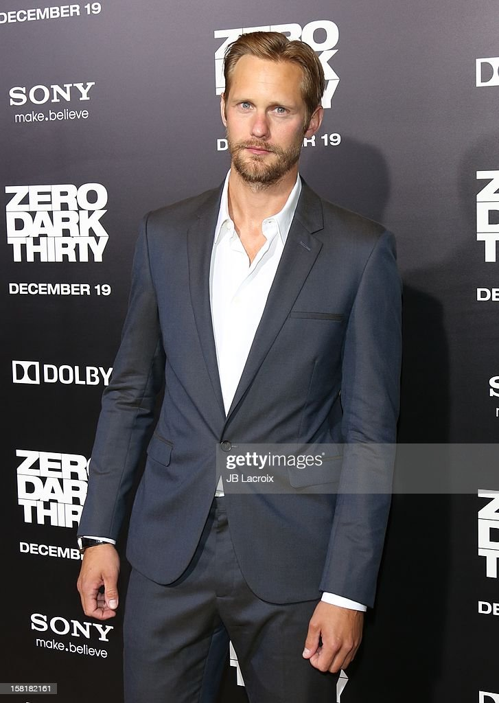 Alexander Skarsgard attends the 'Zero Dark Thirty' Los Angeles premiere at Dolby Theatre on December 10, 2012 in Hollywood, California.