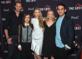 Alexander Skarsgard Ellen Page Brit Marling Patricia Clarkson and Director Zal Batmanglij attend the New York premiere of 'The East' at Sunshine...