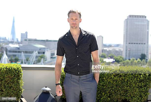 Alexander Skarsgrd attends a Photocall for the film 'The Legend Of Tarzan' at Corinthia London on July 4 2016 in London England