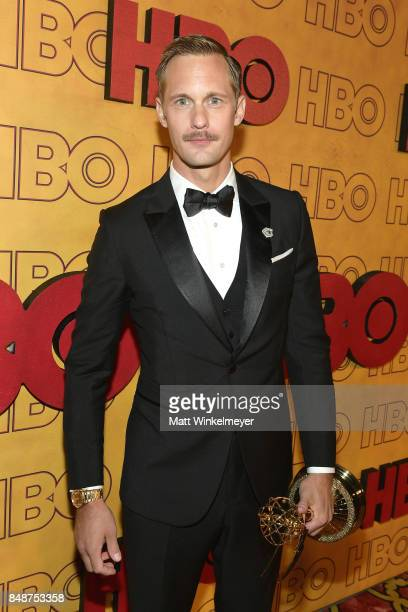 Alexander Skarsgård attends HBO's Post Emmy Awards Reception at The Plaza at the Pacific Design Center on September 17 2017 in Los Angeles California