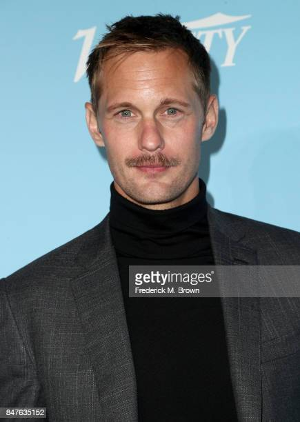 Alexander Skarsgård attends the Variety and Women In Film's 2017 PreEmmy Celebration at Gracias Madre on September 15 2017 in West Hollywood...