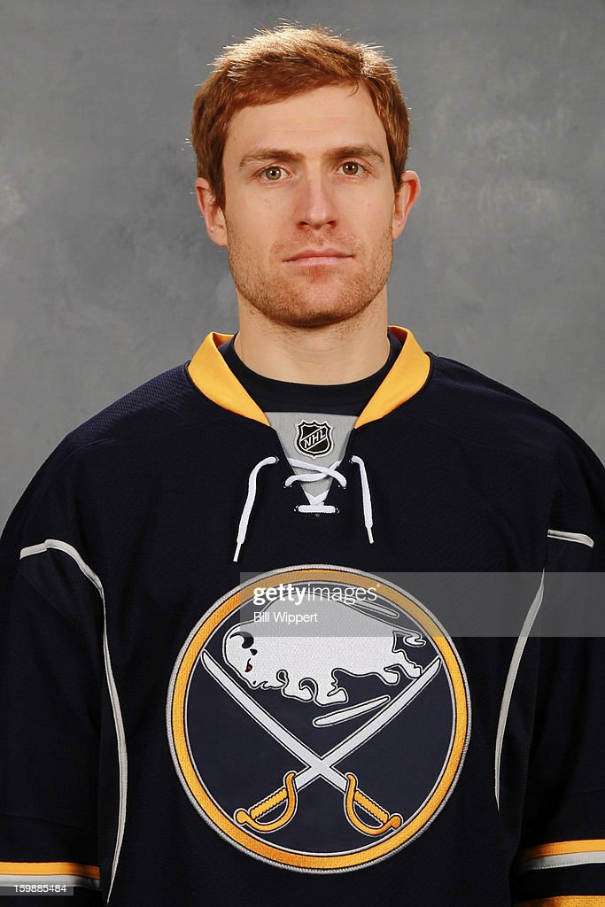 <a gi-track='captionPersonalityLinkClicked' href=/galleries/search?phrase=Alexander+Sulzer&family=editorial&specificpeople=673531 ng-click='$event.stopPropagation()'>Alexander Sulzer</a> #52 of the Buffalo Sabres poses for his official headshot for the 2012-2013 season on January 13, 2013 at the First Niagara Center in Buffalo, New York.