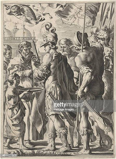 Alexander the Great Cutting the Gordian Knot 17th century Found in the collection of the Rijksmuseum Amsterdam
