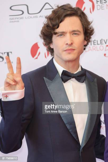 Alexander Vlahos arrives at the Opening Ceremony of the 57th Monte Carlo TV Festival and World premier of Absentia Serie on June 16 2017 in...