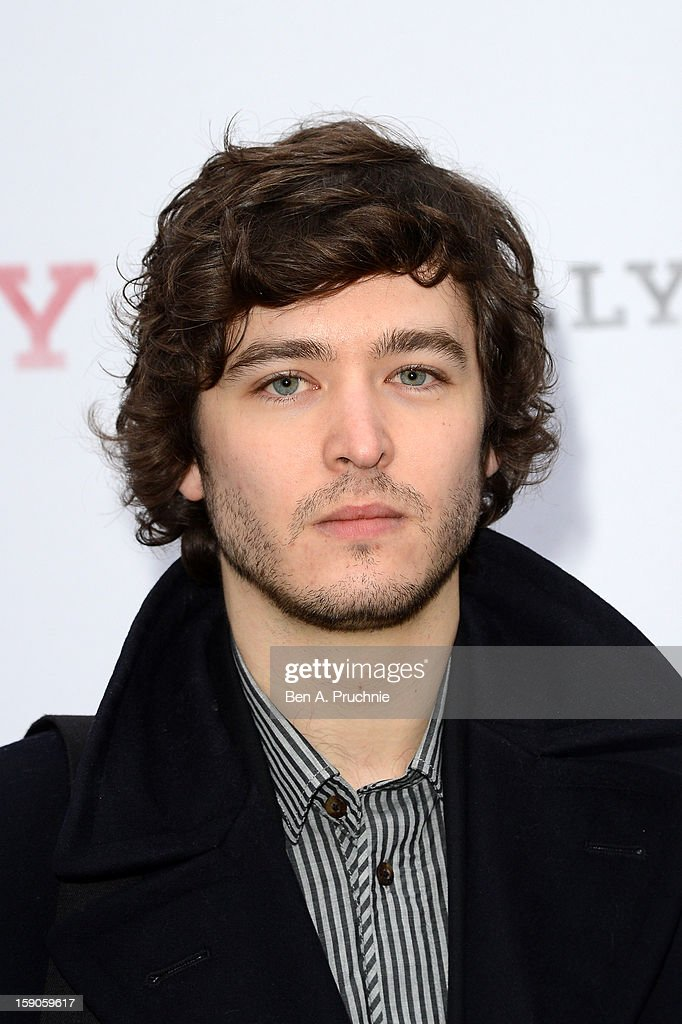 Alexander Vlahos attends the 'BALLY Celebrates 60 Years of Conquering Everest' at Bedford Square Gardens on January 7, 2013 in London, England.