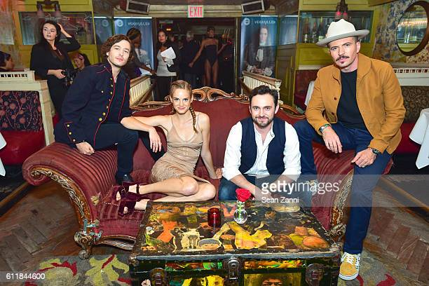Alexander Vlahos Noemie Schmidt George Blagden and Tygh Runyan attend Ovation TV Celebrates the October 1st Premiere of the HighlyAnticipated Drama...