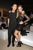 Alexander Wang and Alice Dellal attend the 5th Anniversary of the CFDA/Vogue Fashion Fund at Skylight Studios on November 17 2008 in New York City