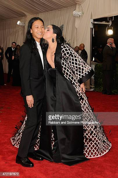 Alexander Wang and Lady Gaga arrives at 'China Through The Looking Glass' Costume Institute Benefit Gala at the Metropolitan Museum of Art on May 4...