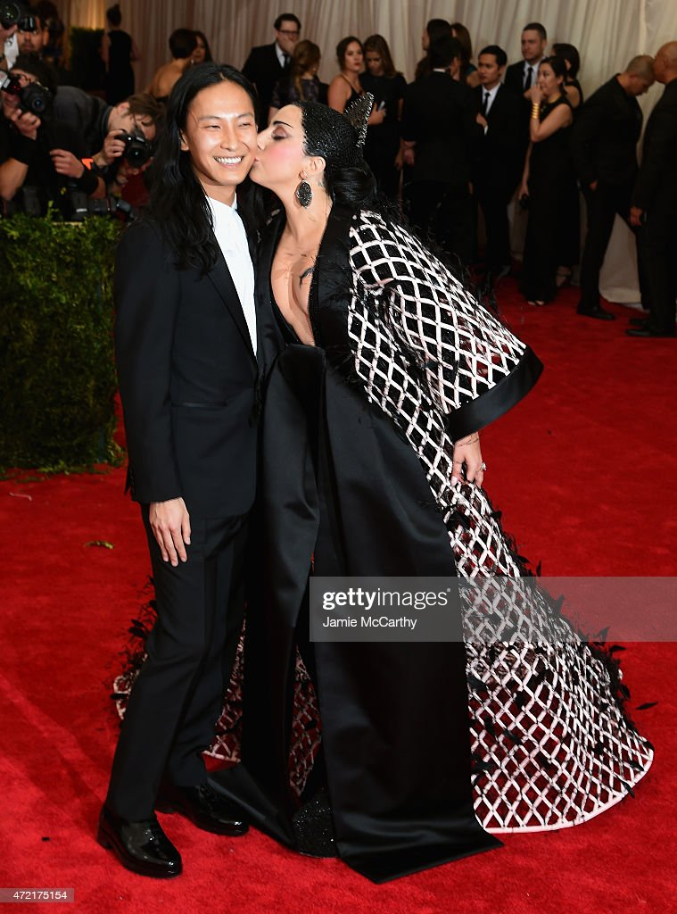 Alexander Wang and Lady Gaga attend the 'China Through The Looking Glass' Costume Institute Benefit Gala at the Metropolitan Museum of Art on May 4...