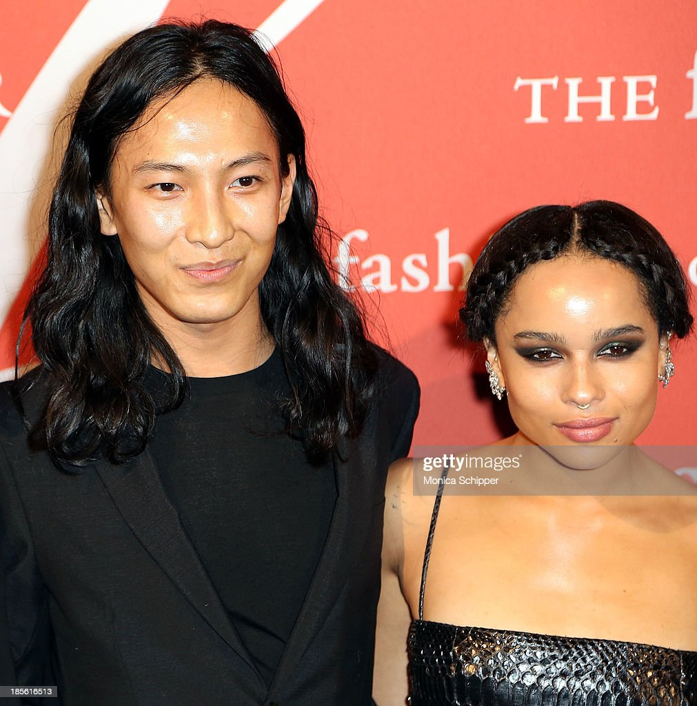 Alexander Wang and <a gi-track='captionPersonalityLinkClicked' href=/galleries/search?phrase=Zoe+Kravitz&family=editorial&specificpeople=680250 ng-click='$event.stopPropagation()'>Zoe Kravitz</a> attend the 30th annual Fashion Group International Night of Stars on October 22, 2013 in New York City.